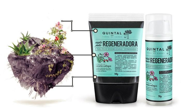 tratamento facial regenerador quintal terra de cores