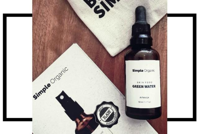 Green Water Simple Organic de Pitanga 1